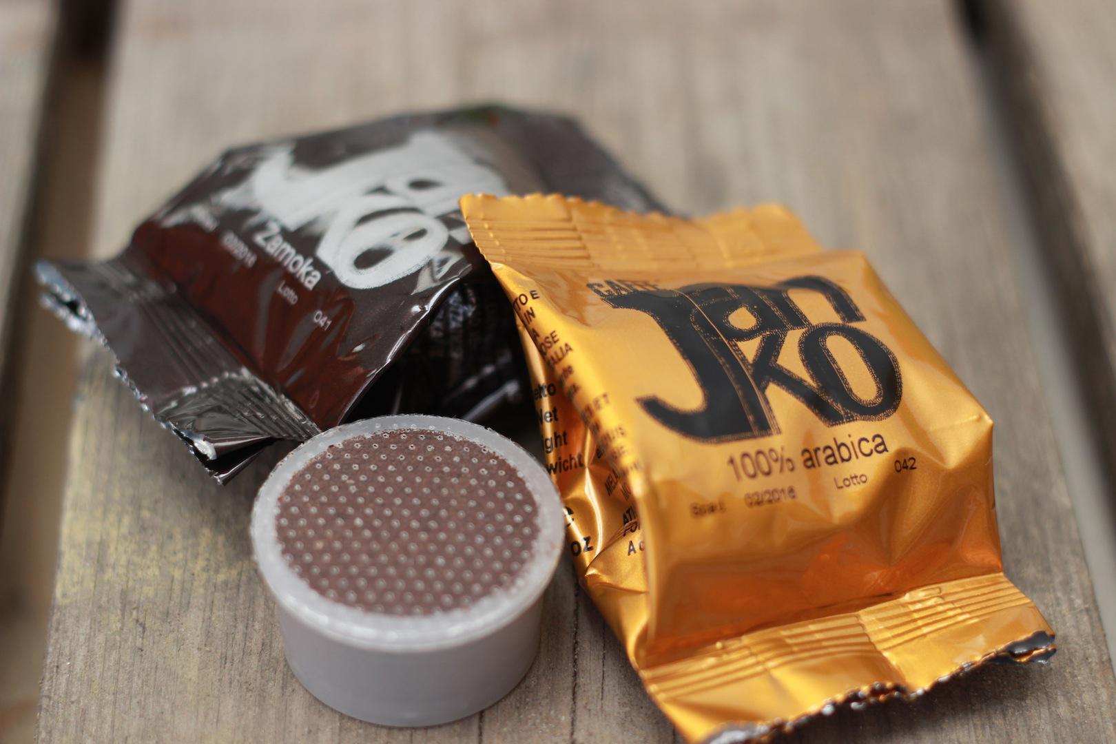 tutto il sapore delle tue miscele Janko preferite - un espresso perfetto con un semplice tocco.